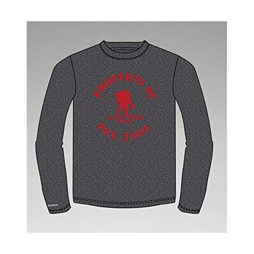 Under Armour Property of WWP Men's Long Sleeve Tee (Medium, Academy/Steel)