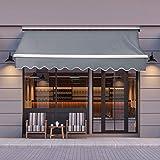 Best Awnings - JOO LIFE Manual Patio Retractable Awning Window/Door Sun Review
