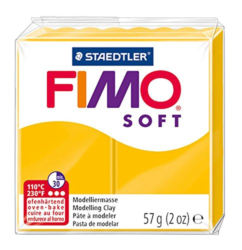- Fimo Soft Modelling Clay, Sunflower, 57 g