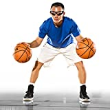 Spalding Dribble Goggles, One Size, Black
