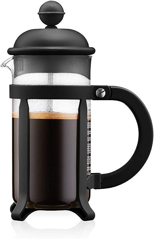 Bodum - 1903-01 - Java - Cafetera 3 Tazas - 0,35 l - Color Negro: Amazon.es: Hogar