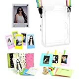 CAIUL 5 in 1 Fujifilm INSTAX SHARE SP-2 Smart Phone Printer Accessories Bundles (PVC SP-2 Case/ Magnetic Frame / Wall Hang Frames/ Film Frames/ Film Stickers)