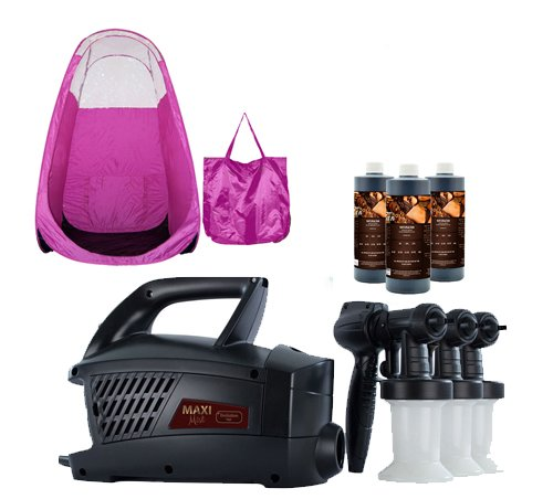Maximist Evolution TNT Spray Tanning System with Pink Tent
