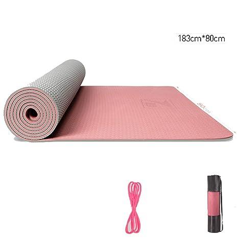 AINIF TPE Yoga Mat para Hombres Y Mujeres Principiantes ...