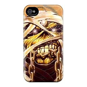 Shock Absorbent Cell-phone Hard Covers For Iphone 6 With Custom Colorful Iron Maiden Pictures JasonPelletier