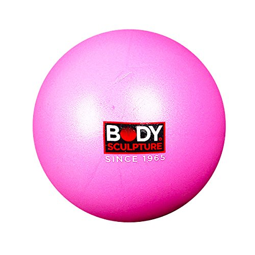 BodySculpture Mini Gymball 20cm/7.9inch (pink) - Exercise ball for rehabilitation, yoga, fitness, crossfit,