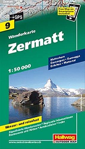 Zermatt (Wanderkarte)