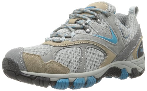 Grey Shoes Sale Walking (Pacific Trail Women's Lawson Walking Shoe,Grey/Taupe/Teal,9 M US)