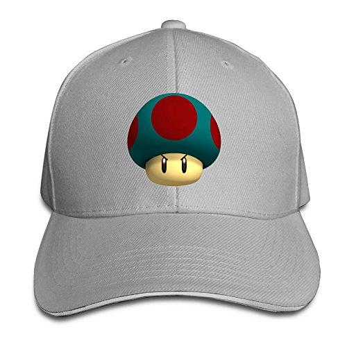 Price comparison product image Super Mario 1 - UPS Mushroom Sports Hats Sandwich Peaked Cap