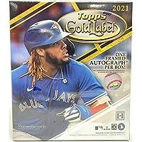 2021 Topps Gold Label Baseball Hobby Box (7 Packs/5 Cards: 1 Auto) photo