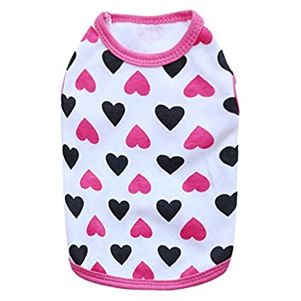 bc40446ed088 DroolingDog XS Dog Clothes XSmall Dog T Shirt Cat Shirts for Small Dogs, XS,