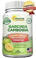 100% Pure Garcinia Cambogia Extract - 120 Capsules, Ultra High Strength HCA, Natural Weight Loss Diet Pills XT, Best Extreme Fat Burner Slim & Detox Max, Premium Blocker for Men & Women, FDA Approved