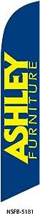 Ashley Furniture Blue Swooper Feather Banner Flag Sign