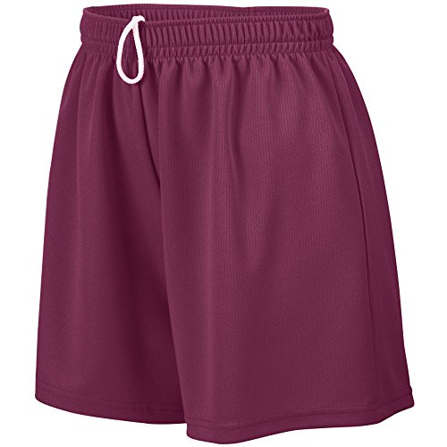 Augusta Sportswear Women's Wicking Mesh Shorts, Large, - Women Augusta