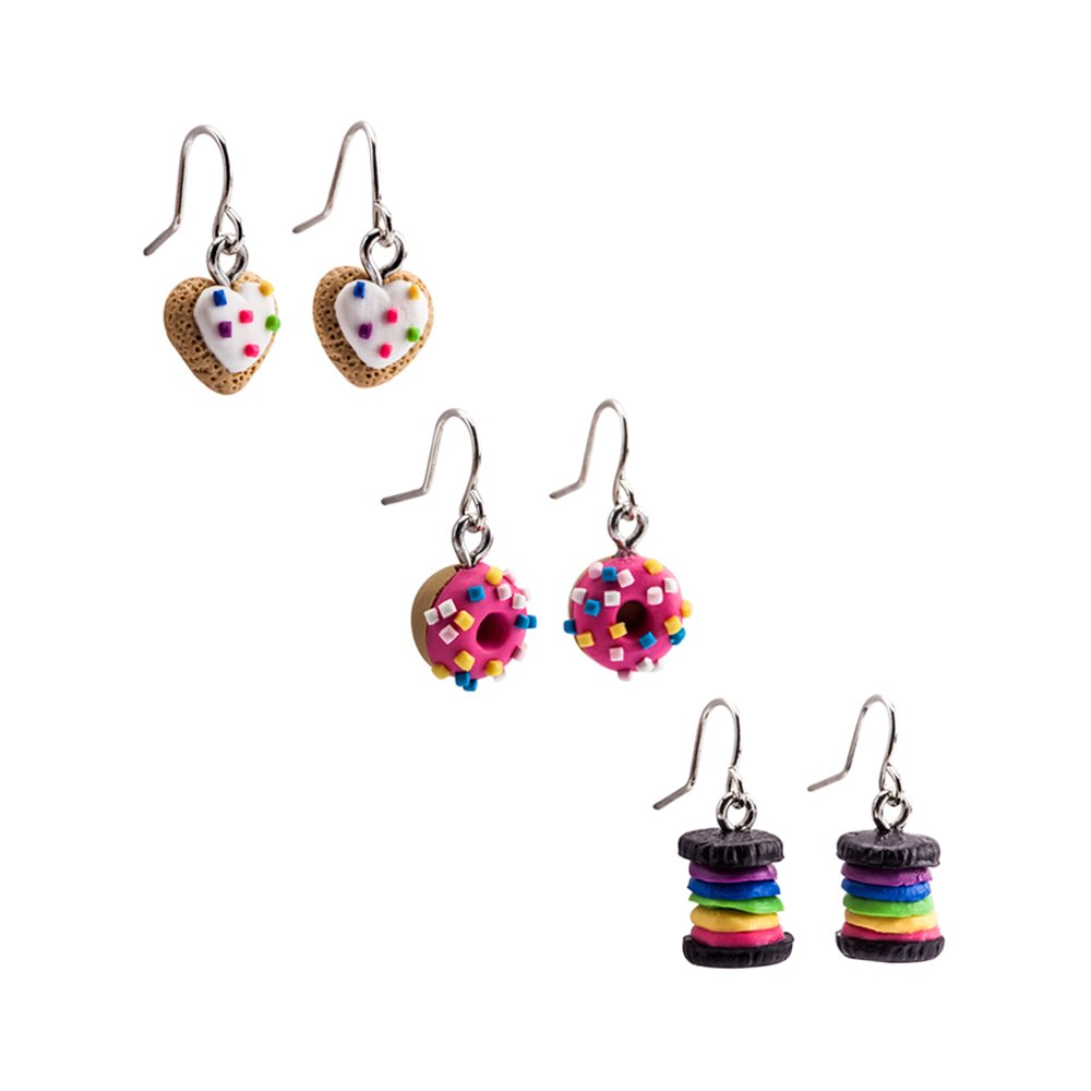 Unique gift idea|bloomya F A R R E N Arch earrings Statement Earrings Polymer  Clay Earrings|Handmade Earrings Dangle Earrings