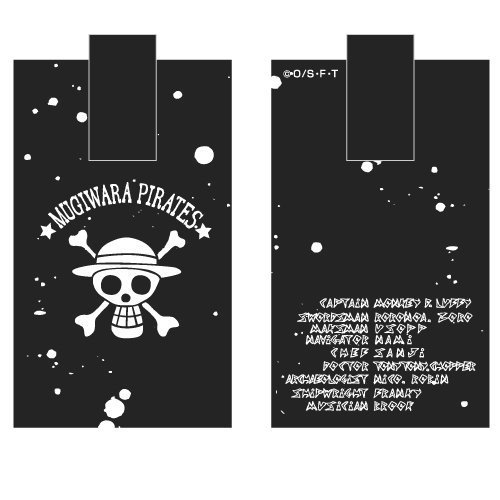 ¡no ser extrañado! One Piece Mugiwara Pirates Cocheabiner Case by by by COSPA  envío gratuito a nivel mundial