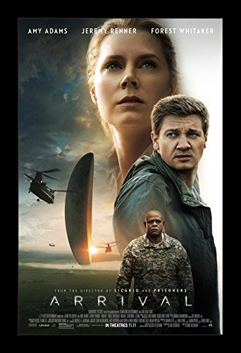 Arrival - 11x17 Framed Movie Poster by Wallspace