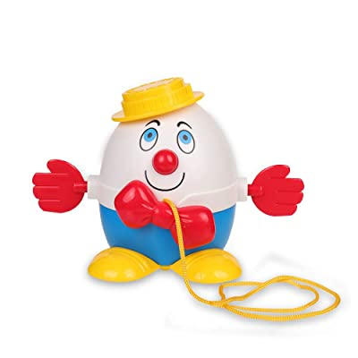 Basic Fun Fisher Price Classics Humpty Dumpty Pull Along: Toys & Games