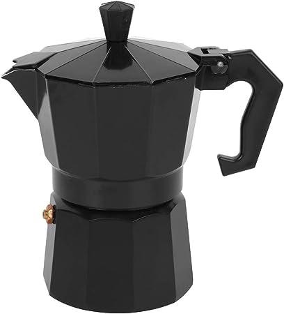 Resistencia a Altas temperaturas Rojo/Negro Estufa Espresso Maker, Espresso Maker, Estufa eléctrica Cocina de Uso de Oficina Estufa de Gas para Uso doméstico(Black): Amazon.es: Hogar