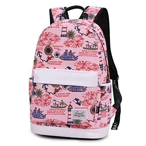 Bolso del estudiante de la lona, bolso de hombro ligero de la capacidad grande-A A