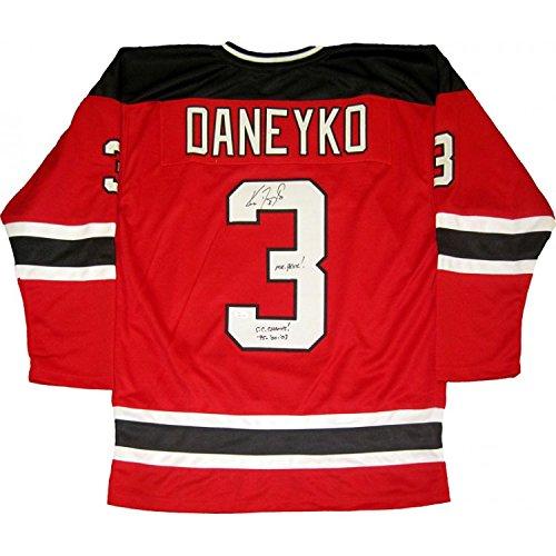 Ken Daneyko Mr. Devil S.C. Champs! 95'00 03 Signed Autographed New Jersey Devils Jersey (JSA)