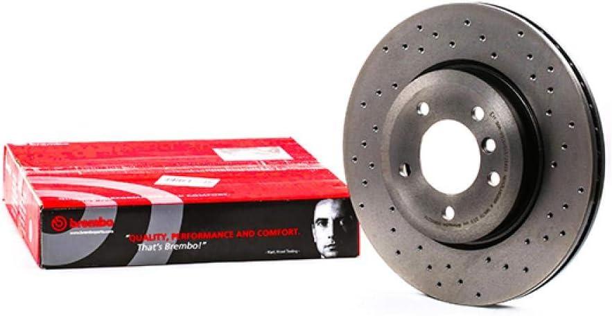 Bremsscheiben x2 BREMBO 09.8952.1X Bremsscheibe Scheibenbremsen
