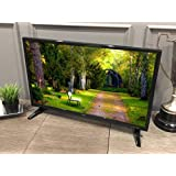 "Free Signal TV Transit 32"" 12 Volt DC Powered LED Flat Screen HDTV for RV Camper and Mobile Use"