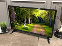 Free Signal TV Transit 32 12 Volt DC Powered LED Flat Screen HDTV for RV Camper and Mobile Use