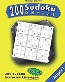 200 Leichte Zahlen-Sudoku 01, Thomas Schreier, 1494716712