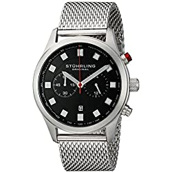 Stuhrling Original Men's 562.33111 Champion Victory Elite Stainless Steel Watch with Mesh Bracelet