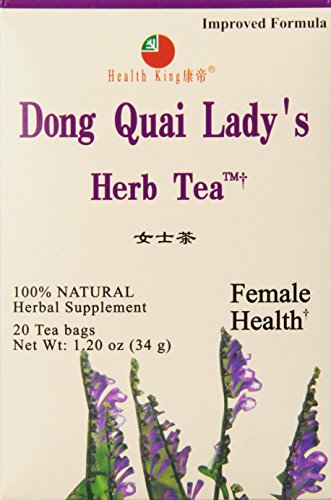 ai Lady's Herb Tea, Teabags, 20 Count Box (Dong Quai Ladys Herb Tea)