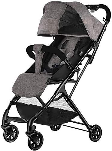 Opinión sobre OESFL Cochecito de bebé recién nacido de peso ligero carro de bebé Cochecito de viaje for los niños, con errores del cochecito de niño plegable compacto y ligero for 25 kg Desde el nacimiento hasta