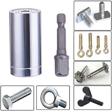 Multifunction Universal Socket Tool Set Universal Grip 9-21mm Ratchet Wrench