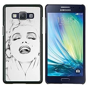 LECELL--Funda protectora / Cubierta / Piel For Samsung Galaxy A5 A5000 -- Actriz 50 DEL 60 DE Estrella --
