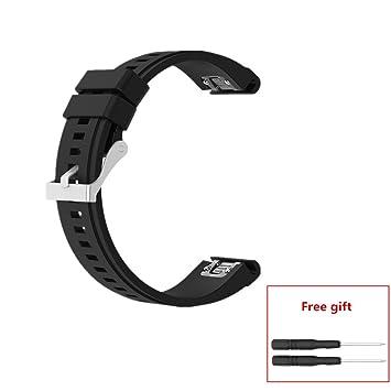 Meiruo 26mm Width Quick Release Wristband Strap For Garmin Fenix 5x
