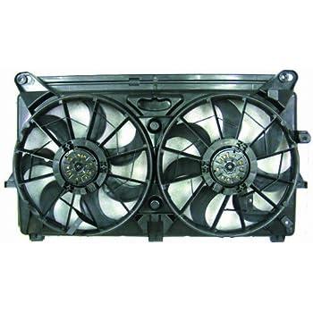 For Cadillac Escalade GMC Yukon Black Engine Cooling Fan Assembly Dorman 620-654