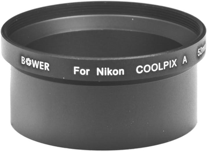 Bower ANCPA Nikon Coolpix A 52 mm Adapter Tube Black