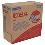 WypAll X70 Extended Use Reusable Cloths (41412), Pop-Up Box, Long Lasting Performance, Blue, 10 Boxes/Case, 100 Sheets