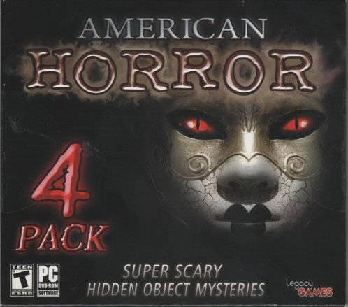 American Horror (Super Scary Hidden Object Mysteries, 4 Pack)]()