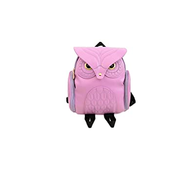 Weilong ladies cartoon animal backpack, fashion travel bag owl backpack