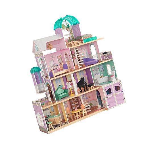 Kk The Rosewood Mansion Dollhouse 53 4 L X 15 3 W X 59 3 H