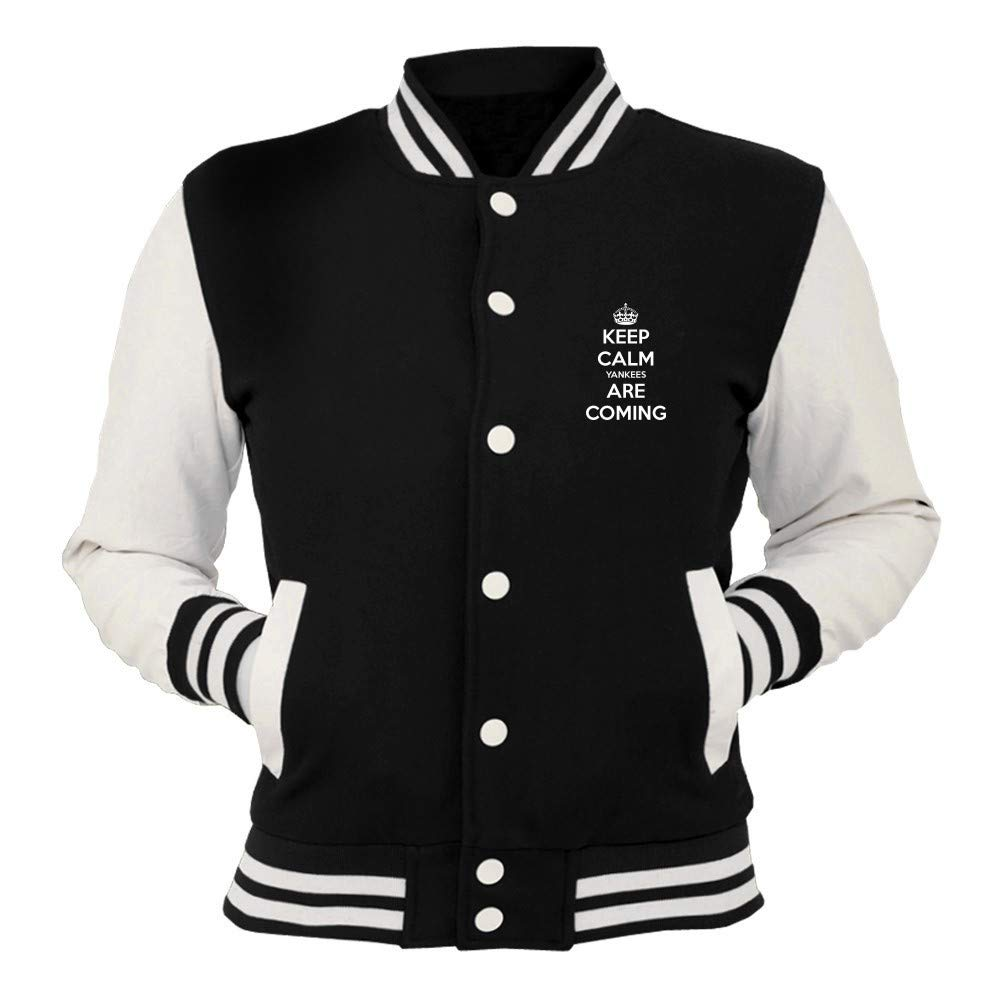 Speed Shirt College Jacket TKC3314 Keep Calm Yankees Are ...