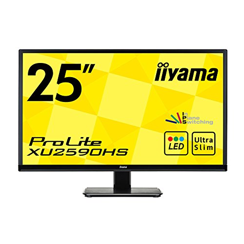 iiyama XU2590HS-B1 63,5 cm (25 Zoll) LED-Monitor (DVI, HDMI, VGA, 5ms) schwarz