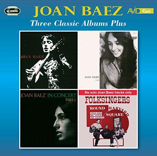 (3 Classic Albums Plus (Joan Baez / Joan Baez Vol 2 / In Concert - Part)