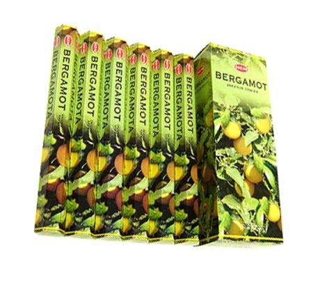 Bergamot - Box of Six 20 Stick Tubes, 120 Sticks Total - HEM -