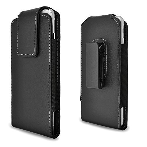 Price comparison product image iPhone 6 6s Plus Holster Case, Gcepls iPhone 7 Plus Premium Leather Holster Belt Case with Clip / Loops Belt Pouch Holder Cover with Built in ID Card Slot for iphone 6 6s 7 Plus Phone