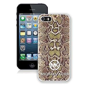 Customized Michael Kors iPhone 5/5s White Phone Case T2-007