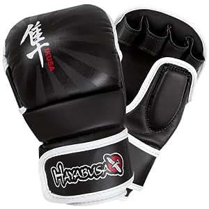 Hayabusa Ikusa Hybrid Glove, 7-Ounce/Medium, Black