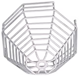 Safety Technology International, Inc. STI-9610 Steel Web Stopper, 9 Gauge Corrosion Resistant Polyester Coated Cage, with High Profile, Surface Mount, 6'' Depth