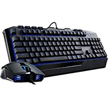Cooler Master Devastator II - Blue LED Gaming Keyboard & Mouse Combo Bundle (SGB-3030-KKMF1-US)